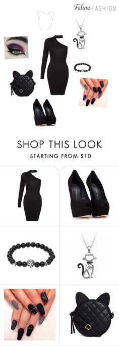"""""""fancy cat"""" by youngpunk6 on Polyvore featuring Giuseppe Zanotti and ASOS"""