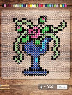 Download free bead patterns from NABBI Beads! http://www.nabbibeads.com/en/free-patterns