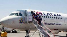 #alquilaraviones Latam Airlines presenta avión en el que viajará el Papa a Chile #kevelairamerica
