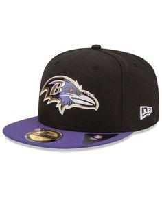 timeless design bbf1b ea9f3 New Era Baltimore Ravens 2015 NFL Draft 59FIFTY Cap   Reviews - Sports Fan  Shop By Lids - Men - Macy s