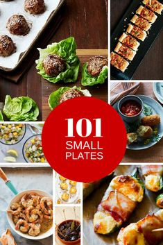 101 Small Plate Ideas to Make at Home - F!@& yes