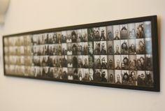 A la queue leu leu dans un même cadre : idéal pour des photomatons vintages ou des photographies anonymes vintages de petit format.