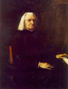 Franz Liszt / Liszt Ferenc (October 1811 – July Liszt is to piano playing what Euclid is to geometry. (Alan Walker) * Mihály MUNKÁCSY: Portrait of Franz Liszt, 1886 Oil on canvas, 130 x cm Hungarian National Gallery, Budapest Aria, Gustave Courbet, Reproduction, Art Database, Art Music, Great Artists, Oil On Canvas, Sculptures, Art Prints