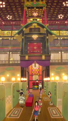 """ghibli-collector: """" Spirited Away Smartphone Wallpapers - I've turned my recent Spirited Away pans post into smartphone wallpapers click each numbered link below and save the image. One Two Three Four..."""