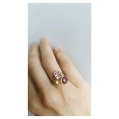 Combinações que amamos: RosaBronze  [Compras via direct] #copella #anel #Swarovski #rosa #acessorios #prata925 #design