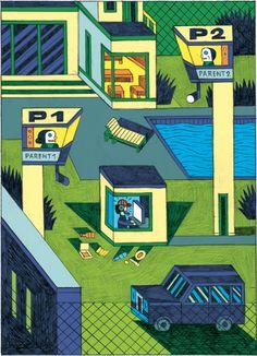 E-Teenagers – Illustration – Wagenbreth