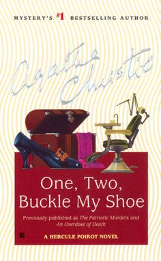 Hercule Poirot #22: One, Two, Buckle My Shoe by Agatha Christie  ||  ★★★ - recommended for ages 14 & up