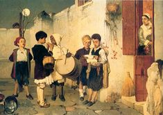 The Ancient Tradition of Caroling in Greece plus a Greek Christmas Carol Christmas Carols Songs, Christmas Traditions, Greek Christmas, Christmas And New Year, Christmas Crafts, Christmas Plays, Christmas Events, Christmas Recipes, Merry Christmas