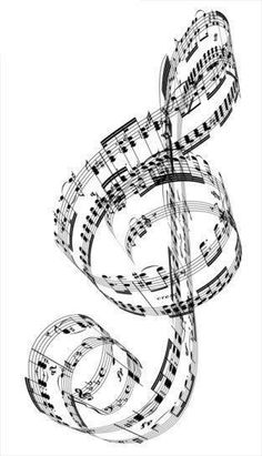 Clip Art of A Treble Clef made from Beethoven& piano music . Music Tattoos, Piano Tattoos, Piano Music, Piano Art, Sheet Music, Music Music, Music Notes Art, Music Tree, Music Wall Art