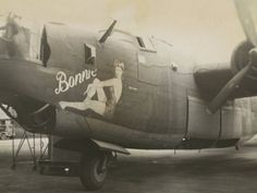 Nose Art on a B24 Liberator