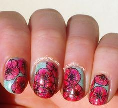 One more ANZAC Poppies mani Lead Light