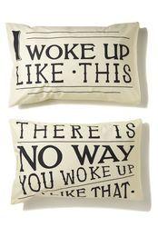 novelty pillow cases set of 2