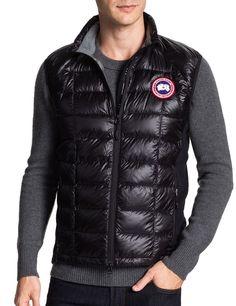 Canada Goose Hybridge Lite Vest Black - product images of