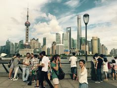 Summer in Shanghai Aug 2015 | Sunny walk on The Bund