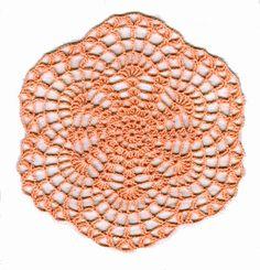tiny crochet doily pattern - Google Search