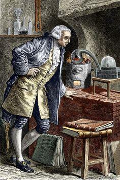 Expériences de Lavoisier sur la composition de l'air