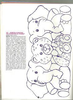 Fazendo artes by Vandinha: riscos infantis