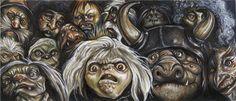 The-Labyrinth-Club DeviantArt Gallery David Bowie Labyrinth, Labyrinth 1986, Labyrinth Movie, Goblin Art, Goblin King, Labyrinth Goblins, Labyrinth Tattoo, Movie Collage, Labrynth