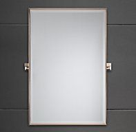 Dillon Rectangular Pivot Mirror | Rectangular Pivot Mirrors | Restoration Hardware