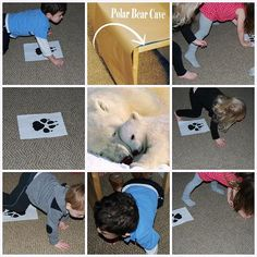 Come join us for playful activities with POLAR BEARS! Hide in a polar bear cave, play a math game, and read some of our favorite books for preschool or kindergarten! http://thepreschooltoolboxblog.com/polar-bear-activities-books-preschool/