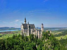 Neuschwanstein Castle - Bavaria/Germany...