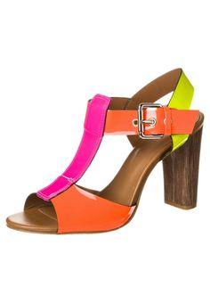 Pastelle BASSA - High Heel Sandalette - neon