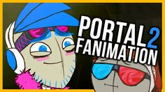 I LOVE YOU. Portal 2 - (Pewds Animated) #2 (+playlist)