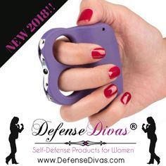 New for 2018, this convenient model has dual spark technology for twice the voltage protection plus a built in LED flashlight. Learn more here: https://www.divasfordefense.com/collections/stun-guns/products/i-do-two-stun-gun-active-lifestyle-self-defense-stun-ring?utm_content=bufferc11c8&utm_medium=social&utm_source=pinterest.com&utm_campaign=buffer #besafe2018 #stunguns #defensedivas #idotwo