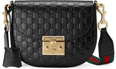 2eaffd0cd8  affiliatead -- Padlock Gucci Signature leather shoulder bag --  chic only