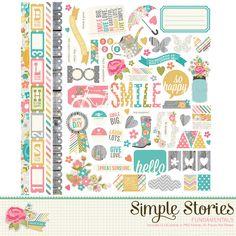 Vintage Bliss Digital Fundamentals | Simple Stories