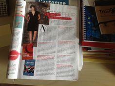 Gazelle consacre une pleine page à Djemila Benhabib dans son numéro de mars/avril 2013, après l'interview réalisée en janvier à Paris.