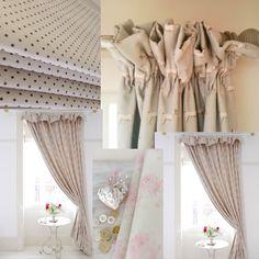 Linen Check Fabric Curtain N Accessories Pinterest Linens