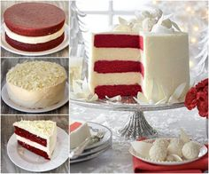 Red Velvet Cheesecake Cake Is Drop Dead Gorgeous | The WHOot