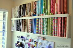 older and wisor How To Store Wrapping Paper & 8 Ways to Keep Your Gift Wrap In Line | Pinterest | Storage hacks ...