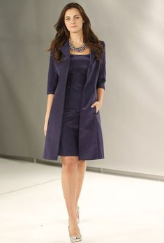 Mother of the Groom Dresses for Fall 2012 | ... Mother of the Bride Dress Fall 2012 - Knee-Length Silk A-Line Dress