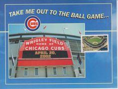 Chicago Cubs Wrigley Field April 20, 2002 SGA US Postage Stamp in Sports Mem, Cards & Fan Shop, Fan Apparel & Souvenirs, Baseball-MLB | eBay