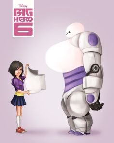 Genderbent Big Hero 6. Can't stop laughing at this one! 40 Pieces of Genderbending Fan Art That'll Make You Feel All Funny - Part 8