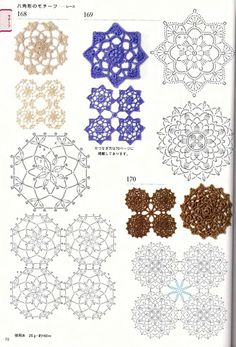 300 crochet patterns book - motifs,edgings - 2006 - Tayrin 3 - Picasa Albums Web