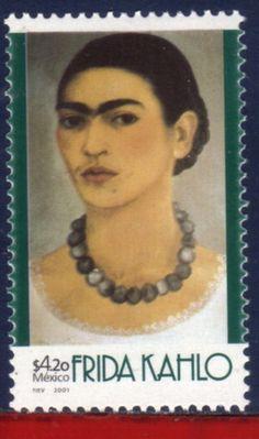 2228 Mexico 2001 Frida Kahlo Painter Famous People MI 2923 | eBay