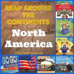 Read Around the Continents/North America-USA booklist #kidlit
