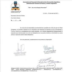 CRÓNICA FERROVIARIA: APDFA: Se solidariza con la lucha docente y repudi...