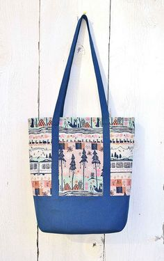 Another day, another tote bag by Kitchen Table Quilts.