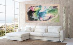 Acrylmalerei - Bosco - ein Designerstück von maria-iacazzi bei DaWanda
