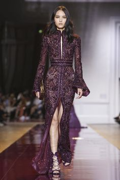 Zuhair Murad Couture Fall Winter 2016 Paris...More beautiful fabric for a simple silhouette. Cheaper to have custom-made than purchase from salon. Select the best fabric within the budget.