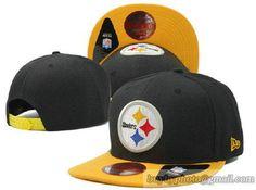 NFL Pittsburgh Steelers Retro Classic Pop Snapback Hats Flat Hat Adjustable Caps 101