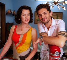 Meet Debi Mazar and Gabriele Corcos, the couple bringing charming Italian heritage to the bustling streets of New York.
