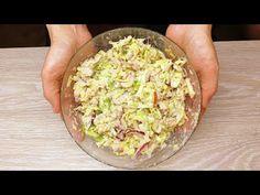 Nu mă obosesc niciodată să mănânc această salată delicioasă! Salată ușoară cu ton # 134 - YouTube Guacamole, Mexican, Ethnic Recipes, Youtube, Food, Entrees, Salads, Salad With Tuna, Fresh