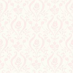 """Hide and Seek Eloise 33' x 20.5"""" Damask 3D Embossed Wallpaper"""