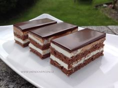 Obrázek Dessert Recipes, Desserts, Food Dishes, Tiramisu, Cheesecake, Candy, Food And Drink, Chocolate, Baking