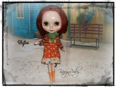 Blythe  Cotton Dress & Sweater  Vintage Inspired  by by KarynRuby